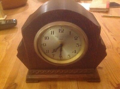 Smiths Lever 8 day  , Mark Hutchings Winchester Mantle Clock