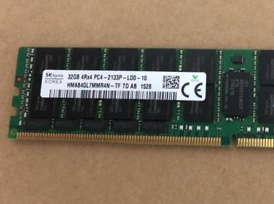 Hynix 32GB 4Rx4 PC4-2133P LRDIMM ECC Registered Dell R730 R630 R740 R640 ETC