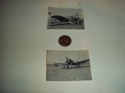 Wwii Ww2 Us Army Air Force Captured Japanese Plane Zero? Photograph Lot