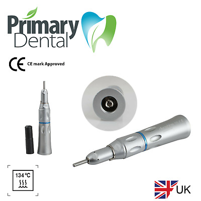straight contra - angle Handpiece CE approved Autoclavable Dental Fiber Optic