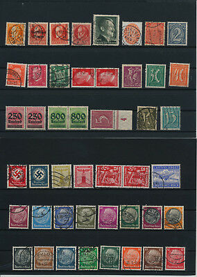 Germany, Deutsches Reich,  liquidation collection, stamps, Lot, used (C 2)