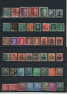 Germany, Deutsches Reich,  liquidation collection, stamps, Lot, used (C 3)