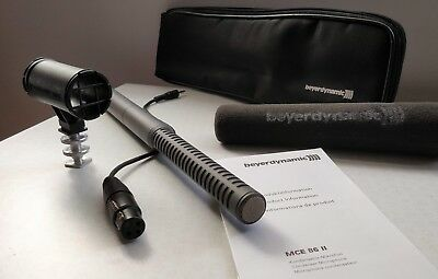 Beyerdynamic MCE 86 S II Shotgun Microphone for Video