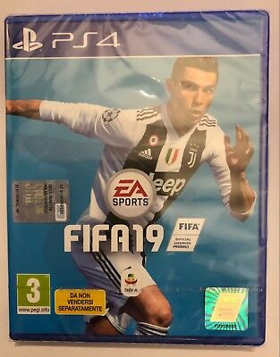 Gioco Ps4 Playstation 4 Fifa 19 Nuovo Originale Dvd + Voucher Ultimate Team
