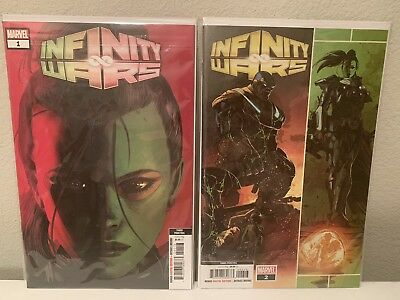 Infinity War #1 and #2 - 3rd Prints *Great Started Pack*