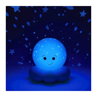 STORE DEMO Cloud b Twinkles To Go Octo Blue Travel Sized Nightlight Projector
