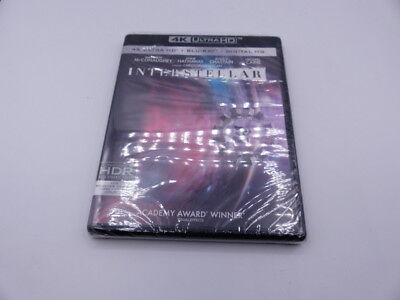 Interstellar 4K Ultra Hd+Blu-Ray+Digital Hd New W/out Slipcover