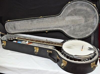 Gold Tone BG-250 Bluegrass Banjo Vintage Brown w/ Accessories & Hard Case