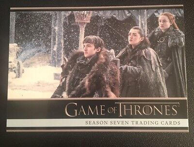2018 Game Of Thrones (GoT) Season 7 (seven) Promo Card P4 Philly show exclusive