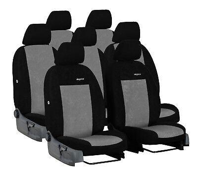 ECO LEATHER TAILORED SEAT COVERS FOR FORD S-MAX TITANIUM 7 SEATS MK1 2006-2015
