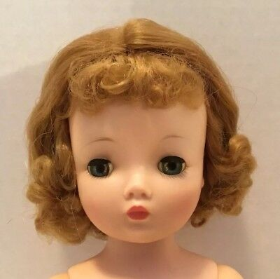 Vintage Madame Alexander Cissy Doll To Dress Gorgeous Blonde 20 Inch Excellent