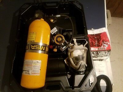 MSA SCBA Complete Rig!very good condition (Self Contained Breathing Apparatus)