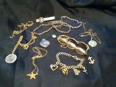 Gold Filled scrap or not. 102 Grams of Mostly wearable jewlery.