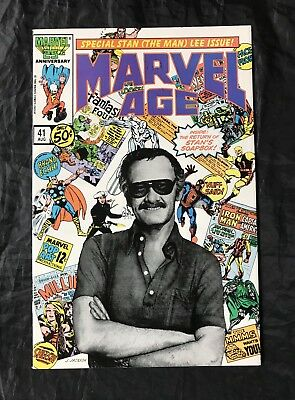 Marvel Age #41 (8/1986) Iconic Stan Lee Cover High Grade!!
