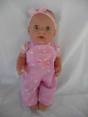 "Handmade dolls clothes (Overalls, top set) fit 40cm ""Missy Kissy"" Berenguer doll"