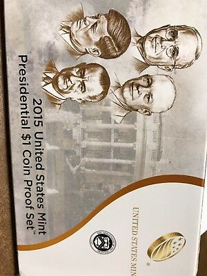 2015 s 4-piece Presidential proof set