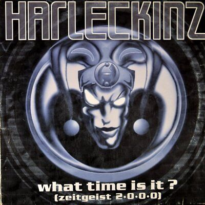 """Harleckinz - What Time Is It Vinyl 12"""""""