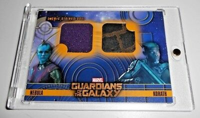 RARE Guardians of the Galaxy COSMIC STRINGS CSD -9 Korath Nebula Relic Prop Card