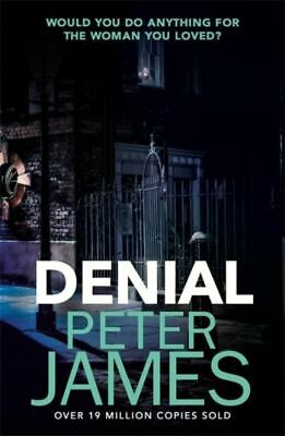 Denial by Peter James (Paperback / softback) Incredible Value and Free Shipping!