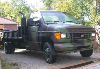 1999 99 Ford E450 Powerstroke 7.3l diesel custom made military truck unique NICE
