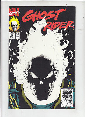 Ghost Rider #15 (Marvel 1991) glow in the dark cover!  1st print NM