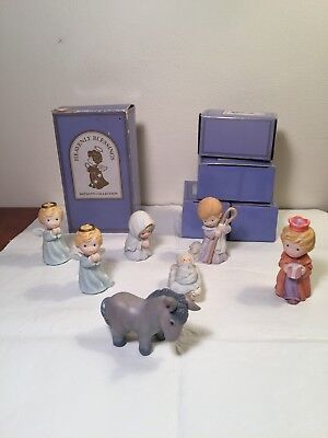 Avon Nativity collection Heavenly blessings The Holy Family Vtg 1986 + 4 More