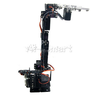 Aluminium Robot 6 DOF Arm Claw Mount Kit Mechanical Robotic Arm For Arduino