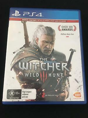 PS4 The Witcher wild hunt super cheap GAME OF THE YEAR