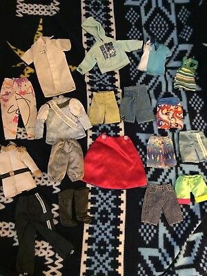 Lot of Ken  Doll Clothes
