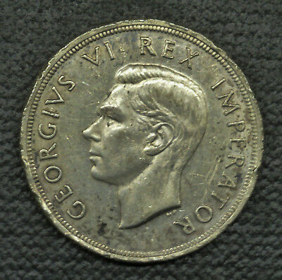 1947 South Africa 5 Shillings, Circulated