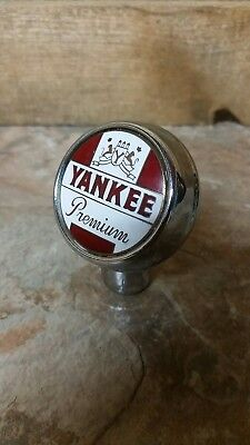 Yankee Beer Ball Tap Knob #2 Pittston, PA Scranton, PA Lackawanna Brewery