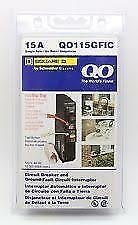 Square D Qo115Gfic 15Amp Ground-Fault Gfci Gfi Circuit Breaker New In Package