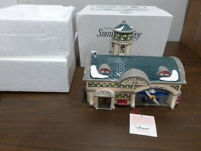 Dept 56 Snow Village Airport - Free Shipping