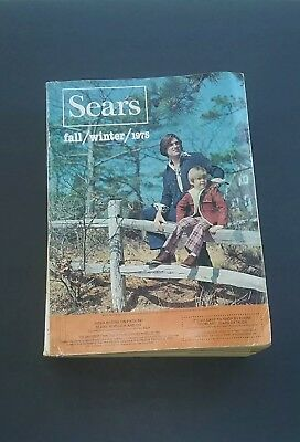 Vintage 1975 SEARS Fall Winter Catalog