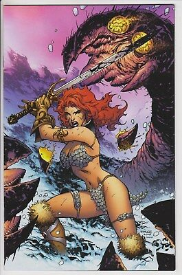 Red Sonja: She-Devil With a Sword #12 1:25 Jim Lee Virgin Variant NM L