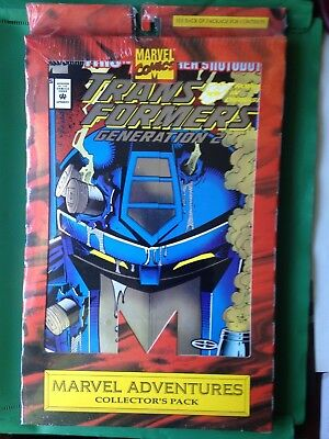 Marvel Comics Transformers Generation 2 - G I Joe Collector's Pack