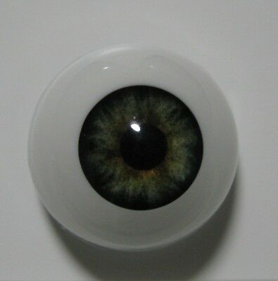 Reborn doll eyes 18mm Half Round  EVERGREEN