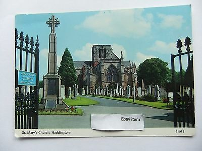 Postcard - St Mary's Church HADDINGTON EAST LOTHIAN SCOTLAND (P)