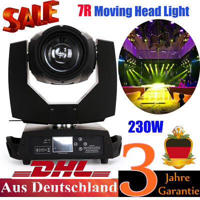 230W 7R Zoom Wash Light Led Moving Head Stage DMX512 Bühnenbeleuchtung Licht Neu