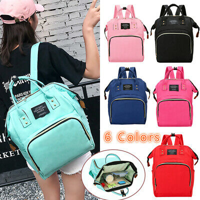 Multifunctional Large Baby Nursing Diaper Backpack Changing Bag Mummy Nappy Bags