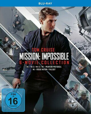 Mission: Impossible 1+2+3+4+5+6 / 6-Movie-Collection # 7-BLU-RAY-BOX-NEU