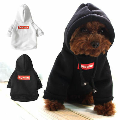2019 New Pet Coat Dog White Winter Clothes Puppy Cat Sweater Coat Clothing