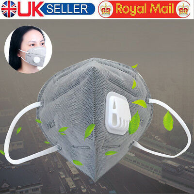 Mouth Mask Anti Pollution Mask N95 4 Layer Filter Insert Anti Dust Mask Filter U