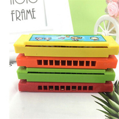 Kids Cartoon Plastic Harmonica Toy Fun Musical Early Educational Gift Toy BSCA