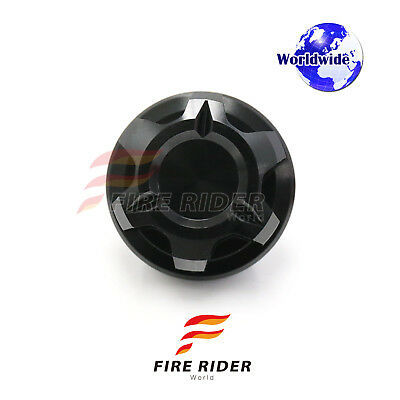 CNC KOL Engine BLACK Oil Filler Cap 1pc For For Aprilia Dorsoduro 1200 09-17