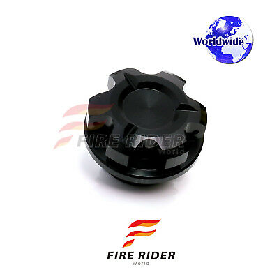 CNC KOL Engine BLACK Oil Filler Cap 1pc For For Suzuki DR 650 Djebel 90-95 91