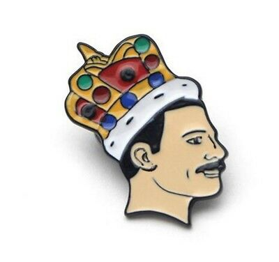 Freddie Mercury Pin Soft Enamel Brooch Pin badge Jewelry fans Gift Collection