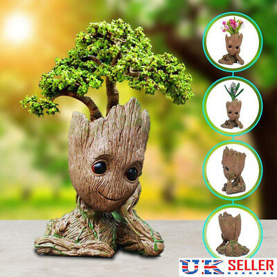 Guardians of the Galaxy Vol.2 Groot Resin Model Figure Plant Pot Flowerpot(16CM)