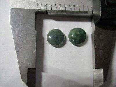 JADEITE NATURAL MINED UNTREATED  x 2 SPECIMENS TOTAL 7.40Ct  MF8536