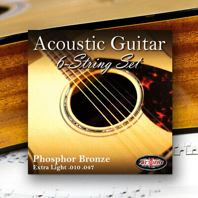 Adagio Pro Acoustic Guitar Strings Gauge 10-47 Phosphor Bronze